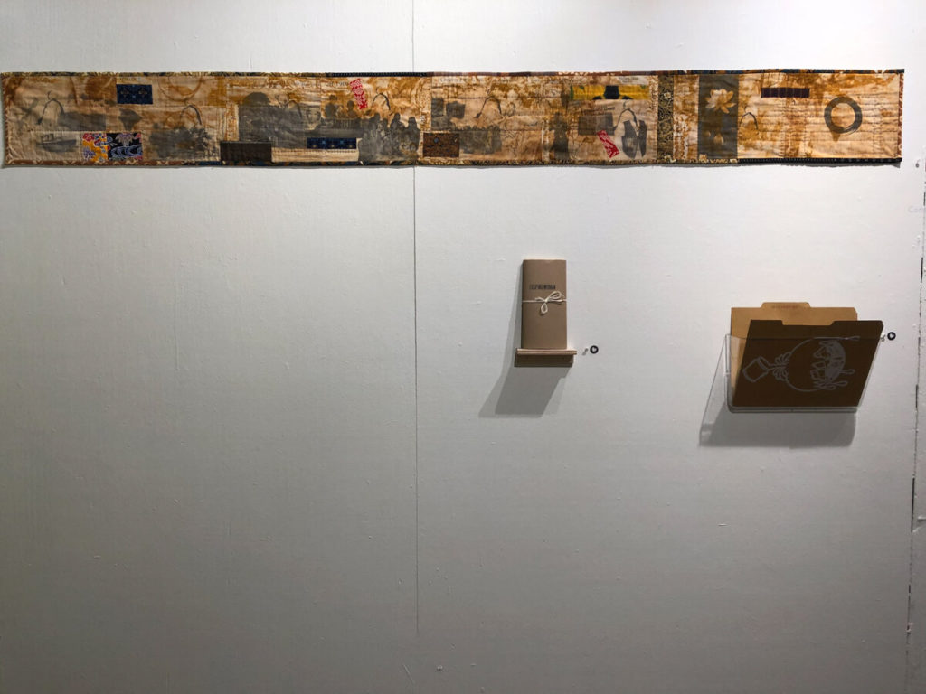 REGENERATE!: Contemporary Book Arts in Hawaii. Curated by Thad Higa and Minny Lee. Donkey Mill Art Center, August 31-October 12, 2019. Installation pictures by Minny Lee.